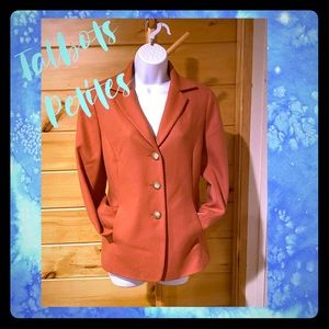 Like New Talbots Petit Cashmere wool blazer